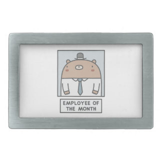 Employee Of The Month Belt Buckle