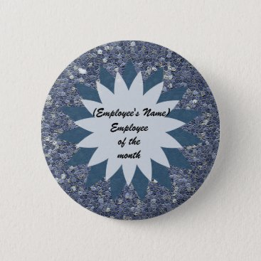 Employee of the Month Business Public Recognition Button