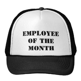 Employee of the month trucker hats