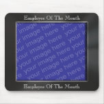 Employee Of The Month Photo Frame Mousepad Mouse Pads