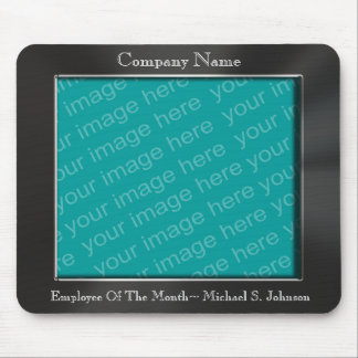 Employee Of The Month Photo Frame Mousepad