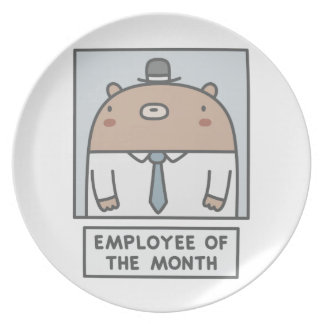 Employee Of The Month Plate