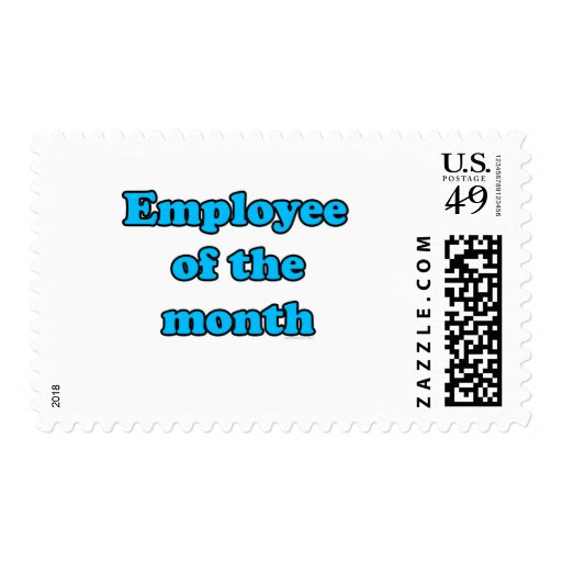 employee of the month postage