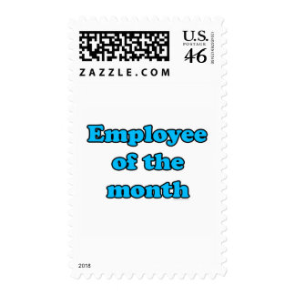 employee of the month postage stamp