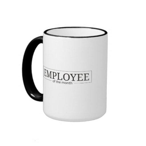 Employee of the Month Ringer Coffee Mug