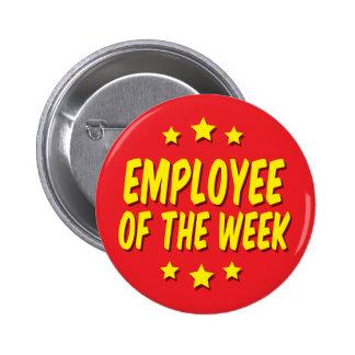 Employee of the Week Pinback Button