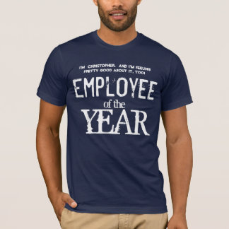 Employee of the Year Employee Appreciation V02 T-Shirt