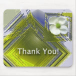 Employee Recognition Floral Design Mouse Pad