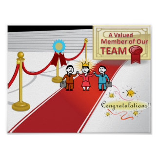 employee recognition poster