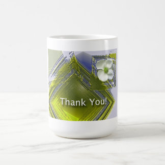 Employee Recognition Thank You Floral Coffee Mug