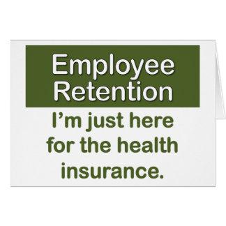 Employee Retention Card