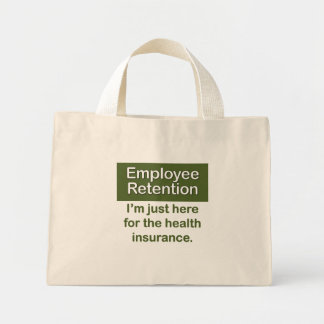 Employee Retention Mini Tote Bag