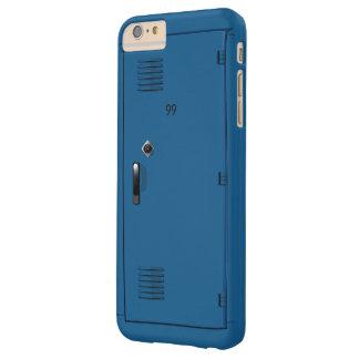 Employee School Locker Cabinet Fun Barely There iPhone 6 Plus Case