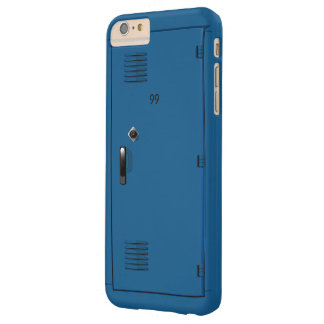 Employee School Locker Cabinet Fun Barely There iPhone 6 Plus Case