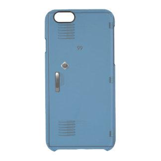 Employee School Locker Cabinet Fun Clear iPhone 6/6S Case