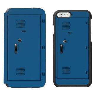 Employee School Locker Cabinet Fun iPhone 6/6s Wallet Case