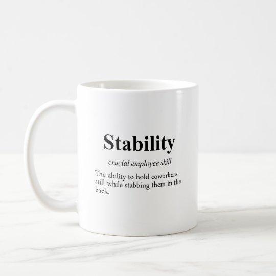 Employee stability is an important metric (2) coffee mug