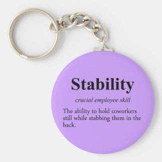 Employee stability is an important metric (2) keychain