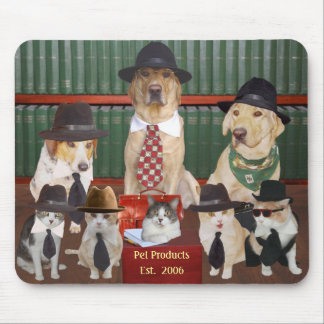 Employees at Pet Products Mouse Pad