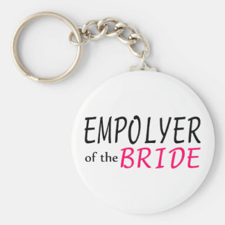 Employer Of The Bride Keychain