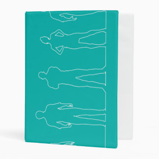 Employment Agency with Happy and Satisfied Staff Mini Binder