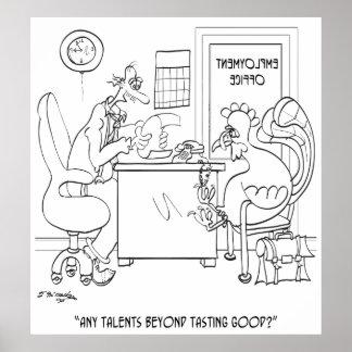 Employment Cartoon 9469 Poster