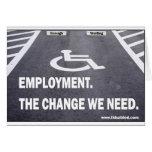 Employment Disabilities Cards