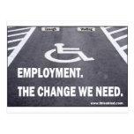 Employment Disabilities Post Card