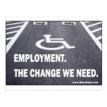 Employment Disabilities Postcards