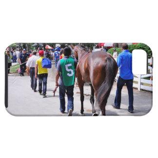 Emplumado por el Charlie-Recibo indio iPhone 5 Carcasa