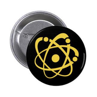 Empollón atómico pin redondo 5 cm