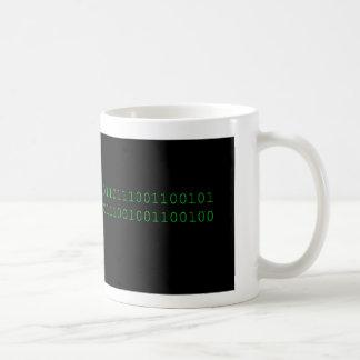 Empollón binario taza