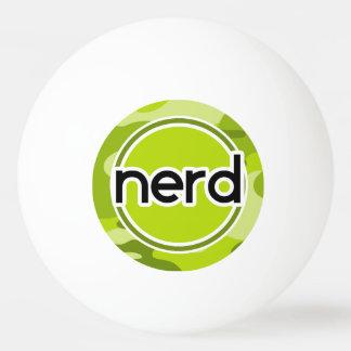 Empollón; camo verde claro, camuflaje pelota de ping pong