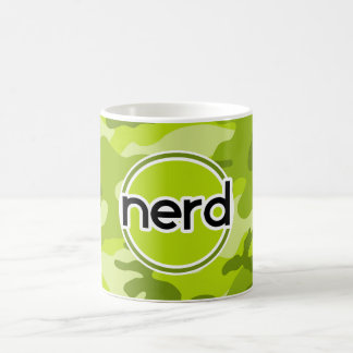 Empollón; camo verde claro, camuflaje tazas