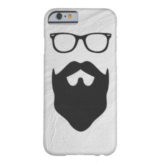 Empollón de la barba funda barely there iPhone 6