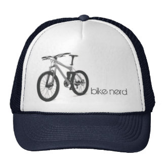Empollón de la bici gorros bordados