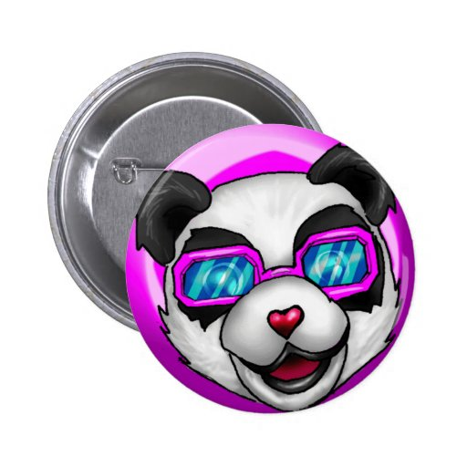 Empollón de la Invasión-panda del EMPOLLÓN Pins