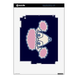 Empollón del caniche skin para el iPad 2