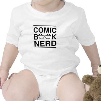 Empollón del cómic trajes de bebé
