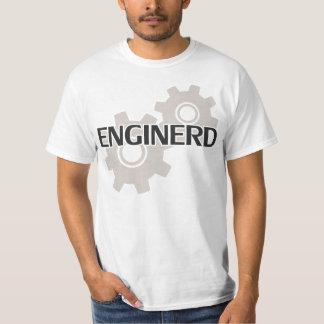 Empollón del ingeniero de Enginerd Playera