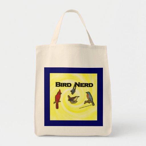 Empollón del pájaro bolsa tela para la compra