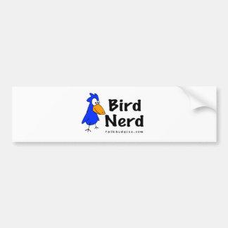 Empollón del pájaro pegatina para auto