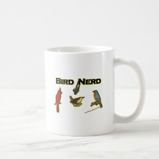 Empollón del pájaro taza clásica