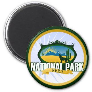 Empollón del parque nacional - desierto imán redondo 5 cm
