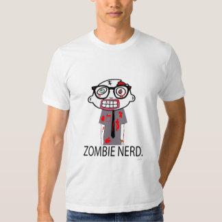 Empollón del zombi. American Apparel Playeras