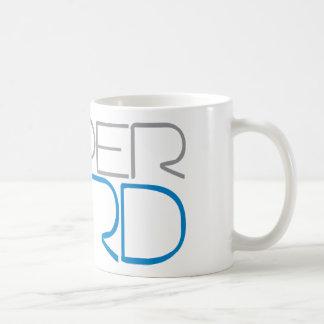 Empollón estupendo taza básica blanca