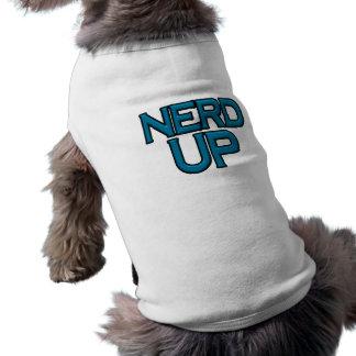 Empollón para arriba camisa de perrito