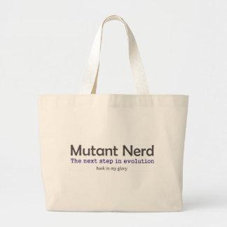 Empollones del mutante bolsa de tela grande