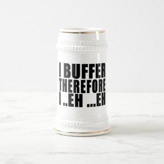 Empollones divertidos de los frikis ÉL: Protejo Jarra De Cerveza