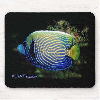 Emporer Angelfish Mouse Mat